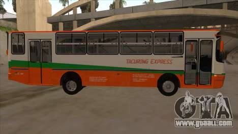 Tacurong Express 368 for GTA San Andreas back left view