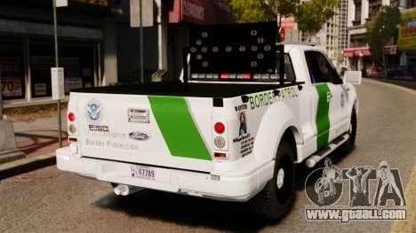 Ford F-150 v3.3 Border Patrol [ELS & EPM] v3 for GTA 4 back left view
