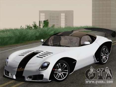 Devon GTX 2010 for GTA San Andreas interior