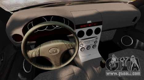 Mazda 3 Sport for GTA 4 back left view