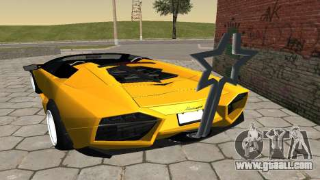 Lamborghini Reventon Shakotan for GTA San Andreas