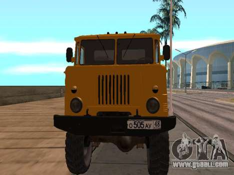 GAS-66 Truck for GTA San Andreas left view