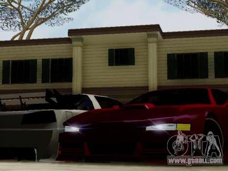 Infernus DoTeX for GTA San Andreas inner view