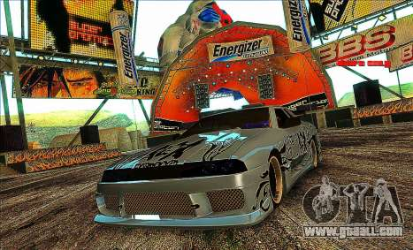 Elegy SDS Team by maximmm for GTA San Andreas right view