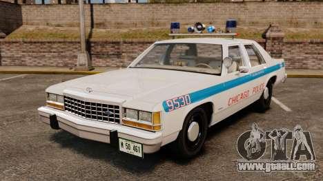 Ford LTD Crown Victoria 1987 [ELS] for GTA 4