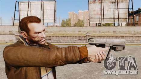 M6G pistol of the Magnum v2 for GTA 4