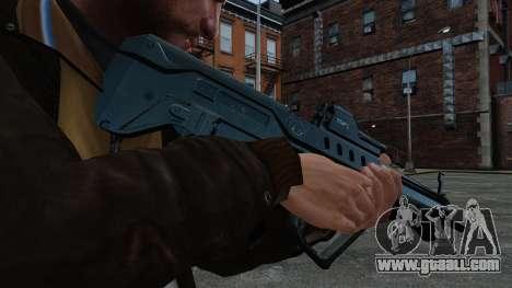 TAR-21 assault rifle for GTA 4 third screenshot