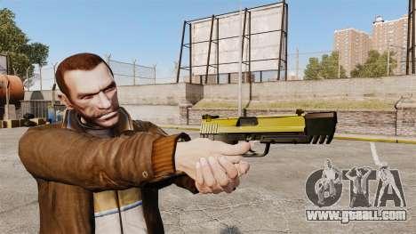 Self-loading pistol USP H&K v4 for GTA 4
