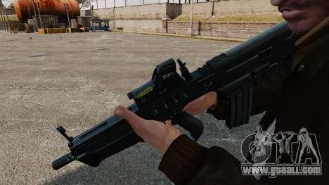 TAR-21 assault rifle for GTA 4 second screenshot