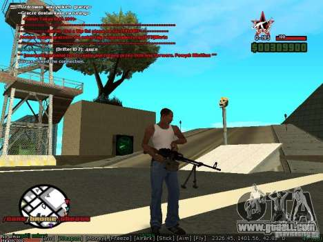 Sobeit 4.2.2.1 (2011) [RUS] for GTA San Andreas third screenshot