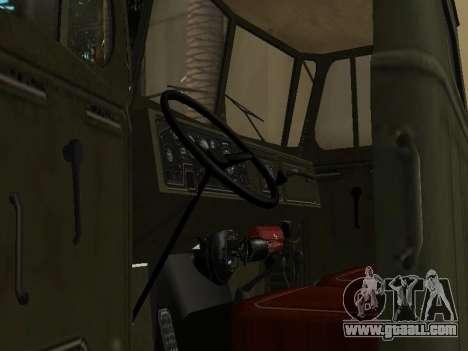Ural 4320 Tonar for GTA San Andreas side view