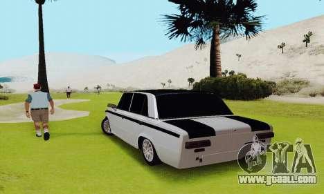 VAZ 2101 for GTA San Andreas inner view