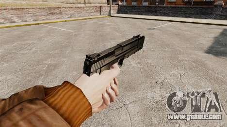 Self-loading pistol H&K USP v1 for GTA 4 second screenshot