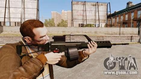 MG36 v1 H&K assault rifle for GTA 4