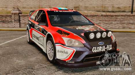 Ford Focus RS Munchis WRC for GTA 4