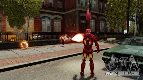 Iron Man IV v 2.0 for GTA 4 seventh screenshot