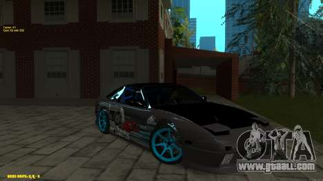 Nissan Silvia RPS13 CIAY for GTA San Andreas side view