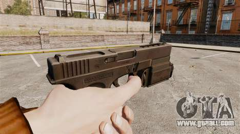Tactical pistol Glock 18 v1 for GTA 4 second screenshot