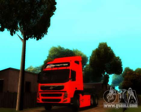 Volvo FM Globetrotter XL 6x4 for GTA San Andreas