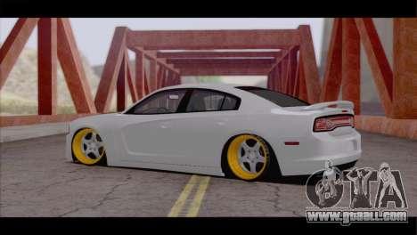 Dodge Charger SRT8 for GTA San Andreas back left view