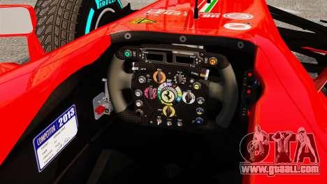 Ferrari F138 2013 v1 for GTA 4 back view