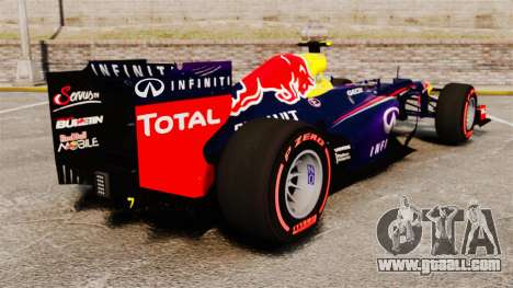RB9 v6 car, Red Bull for GTA 4