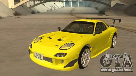 Mazda RX7 FD3S RE Amemyia Touge Style for GTA San Andreas