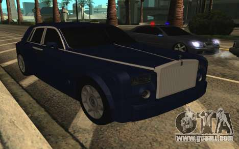 Rolls-Royce Phantom for GTA San Andreas upper view