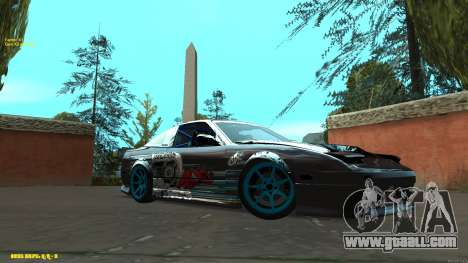 Nissan Silvia RPS13 CIAY for GTA San Andreas