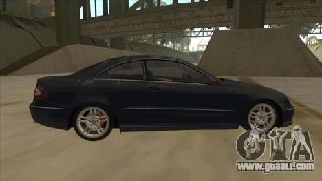 Mercedes-Benz CLK55 AMG 2003 for GTA San Andreas left view
