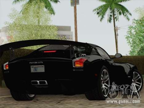 Devon GTX 2010 for GTA San Andreas