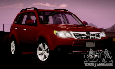 Subaru Forester XT 2008 v2.0 for GTA San Andreas