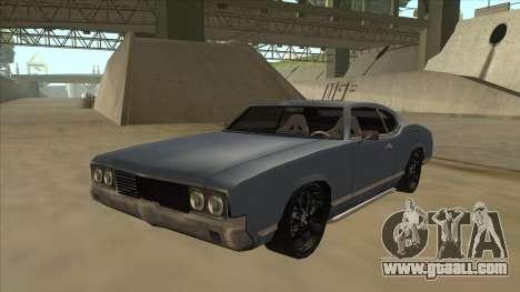 Tuned Sabre for GTA San Andreas