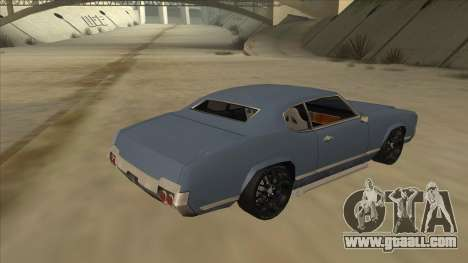 Tuned Sabre for GTA San Andreas right view