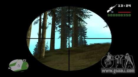 L96A1 for GTA San Andreas second screenshot