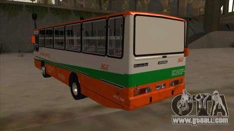 Tacurong Express 368 for GTA San Andreas back view