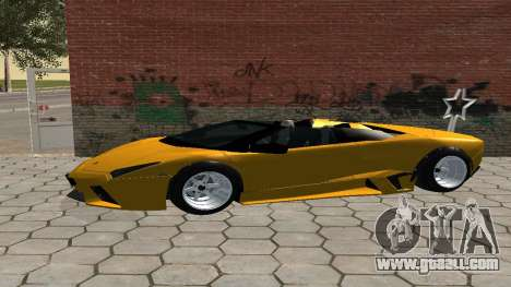 Lamborghini Reventon Shakotan for GTA San Andreas left view