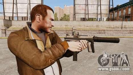 Tactical MP9 submachine gun v1 for GTA 4