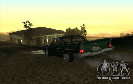 Plymouth Fury for GTA San Andreas right view