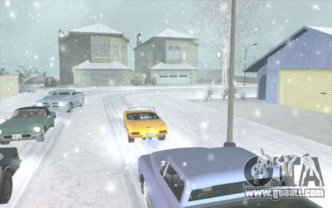Snow San Andreas 2011 HQ - SA:MP 1.1 for GTA San Andreas forth screenshot