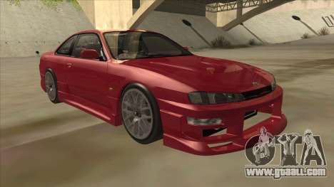 Nissan Silvia S14 RB26DETT Black Revel for GTA San Andreas