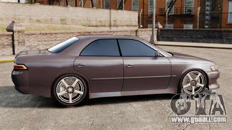 Toyota Mark II 1990 v1 for GTA 4 left view