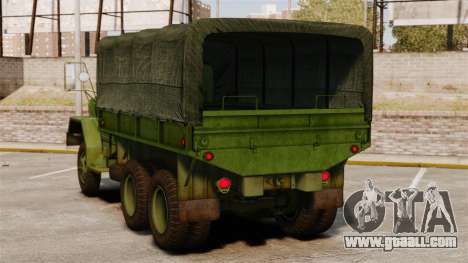 Basic military truck AM General M35A2 1950 for GTA 4 back left view