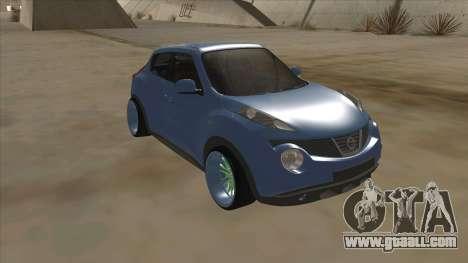 Nissan Juke Lowrider for GTA San Andreas left view