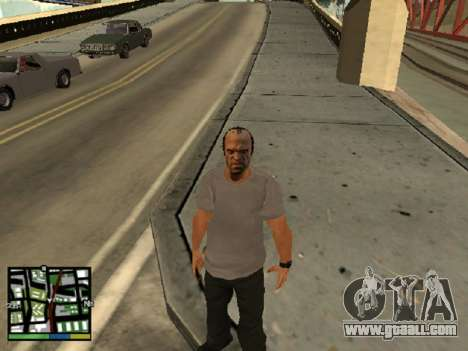 Trevor Philips of GTA 5 for GTA San Andreas