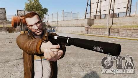 Glock 17 self-loading pistol v1 for GTA 4 third screenshot