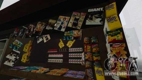 The upgraded kiosks and hot dogovye carts for GTA 4 third screenshot