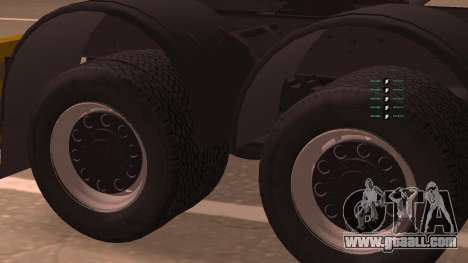 KAMAZ 260 Turbo for GTA San Andreas back left view