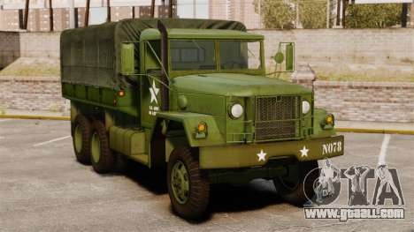 Basic military truck AM General M35A2 1950 for GTA 4