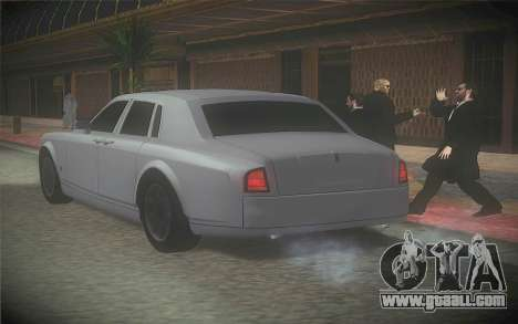 Rolls-Royce Phantom for GTA San Andreas left view